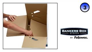 Bankers Box® System Heavy Duty ERGO Box - Blue