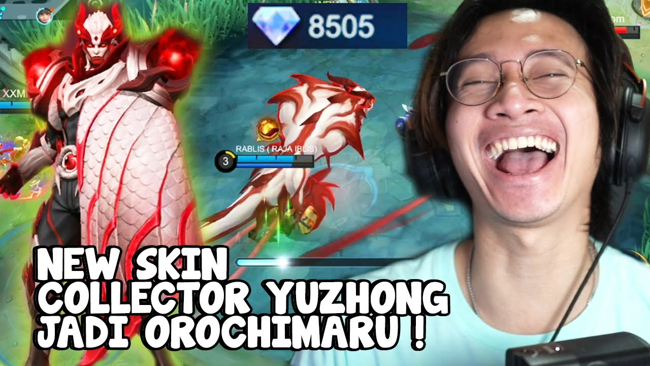 8500 DIAMOND NEW SKIN COLLECTOR YUZHONG ! - Mobile Legends Indonesia