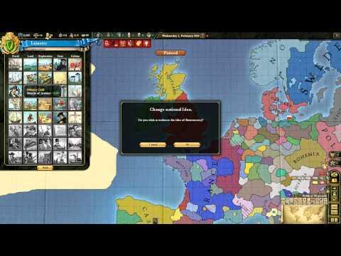 Let's Play Europa Universalis III 3 Divine Wind Ireland 01 HD