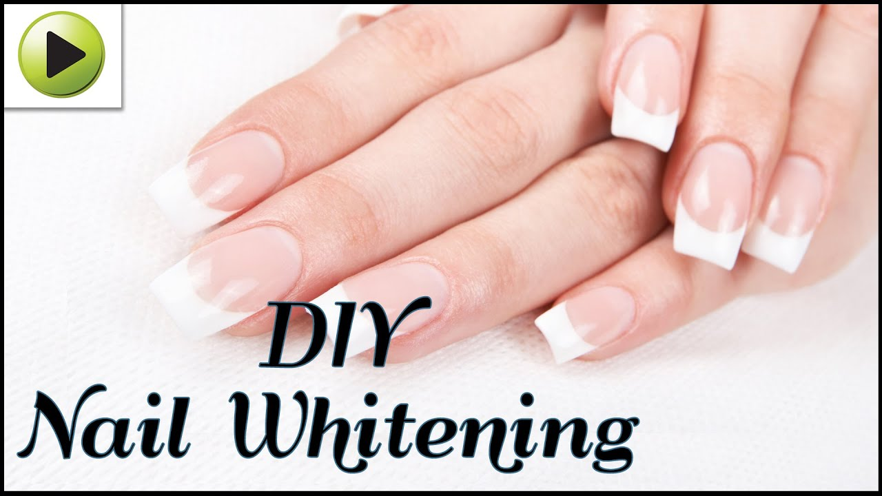 How to Whiten Your Nails Naturally - YouTube