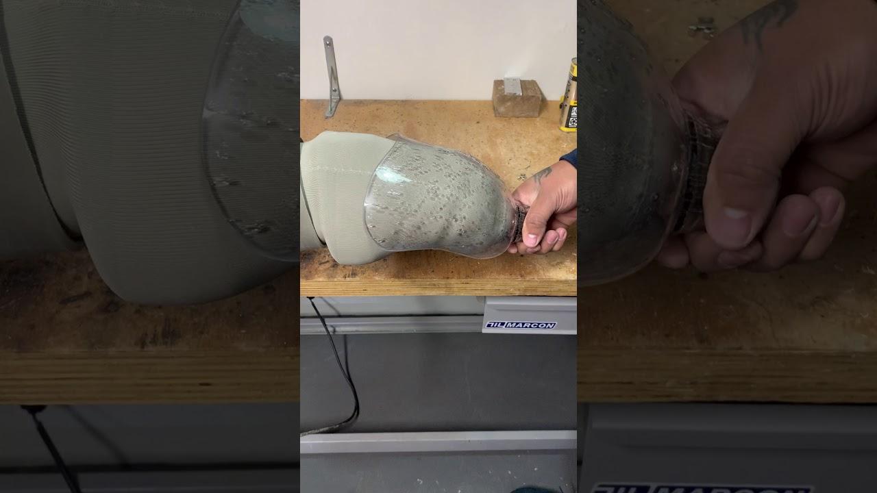 Teste no encaixe em imã do sistema DVS-Dynamic Vacuum System da Ottobock
