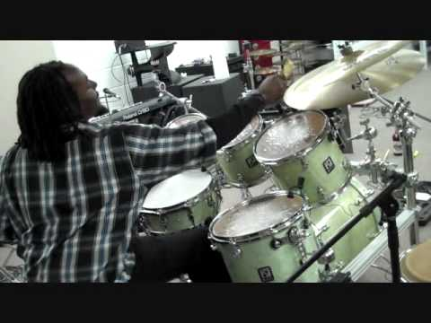 Lester Wallace and Daniel Reid at EAST COAST DRUMS