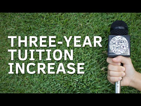 Use Your Voice | Three-year Tuition Increase to Fund Maintenance