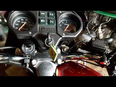 Установил зарядное устройство на мотоцикл. 2xUSB
