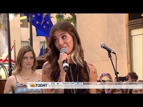 Christina Perri ft  Jason Mraz ,HD, Distance,Live, Today Show  2012  ,HD 720p