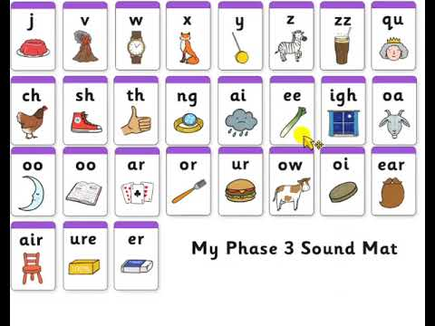 Phonics Phase 3 Sounds for Pronunciation - YouTube