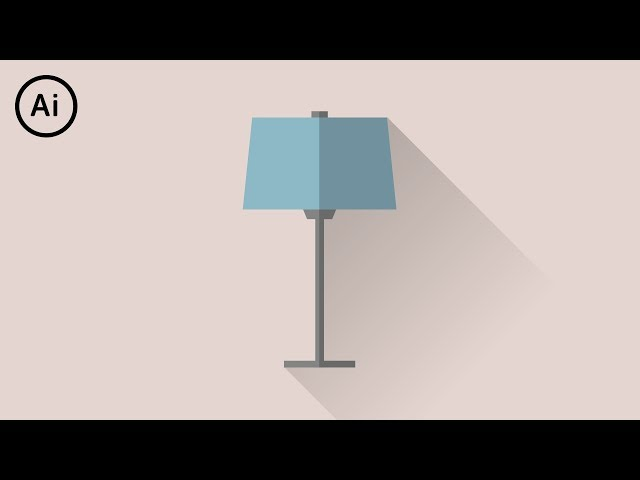 How to Make Flat Design Long Shadows | Illustrator Tutorial
