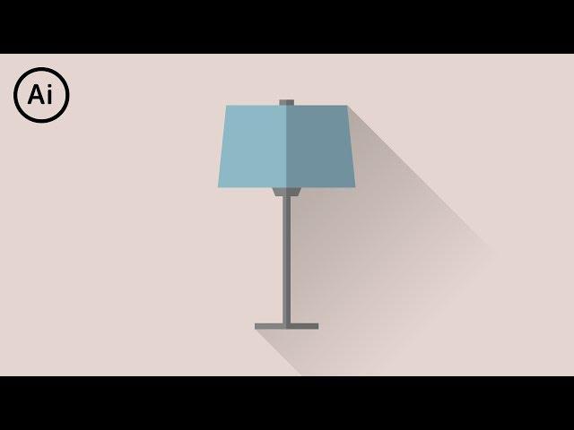How to Make Flat Design Long Shadows | Illustrator Tutorial