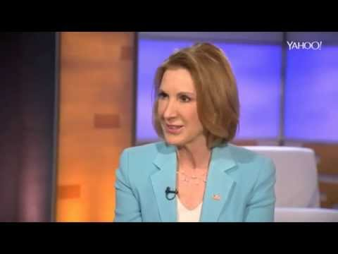 Carly Fiorina makes mincemeat of interviewer Katie Couric - on Hillary