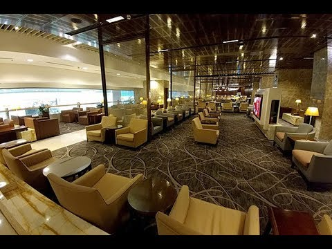 Singapore Airlines SilverKris Business Class Lounge at T3 Changi Airport (SIN)