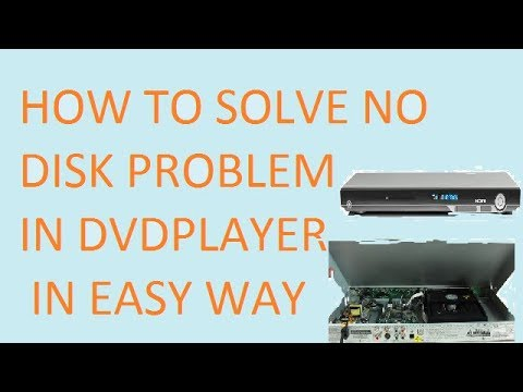 How To Repair No Disk Problem In Dvd Player In Easy Way Youtube