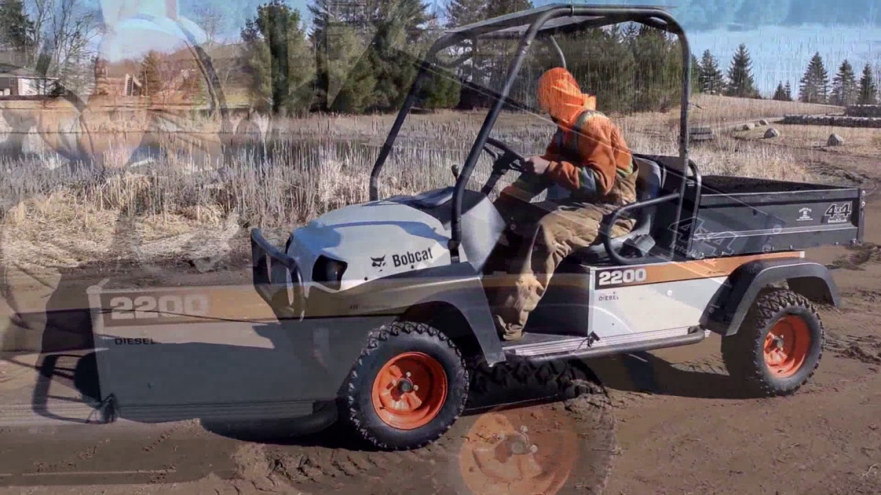 Bobcat 2200 Side By Side Youtube