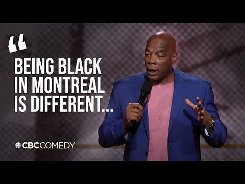 Being black in Canada versus America | Alonzo Bodden