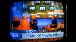 Murphy Brown Reunion on the KATIE show - 2014
