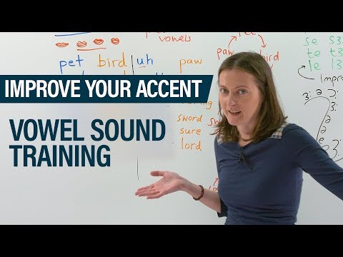 Improve your accent: Introduction to the IPA and vowel sound training