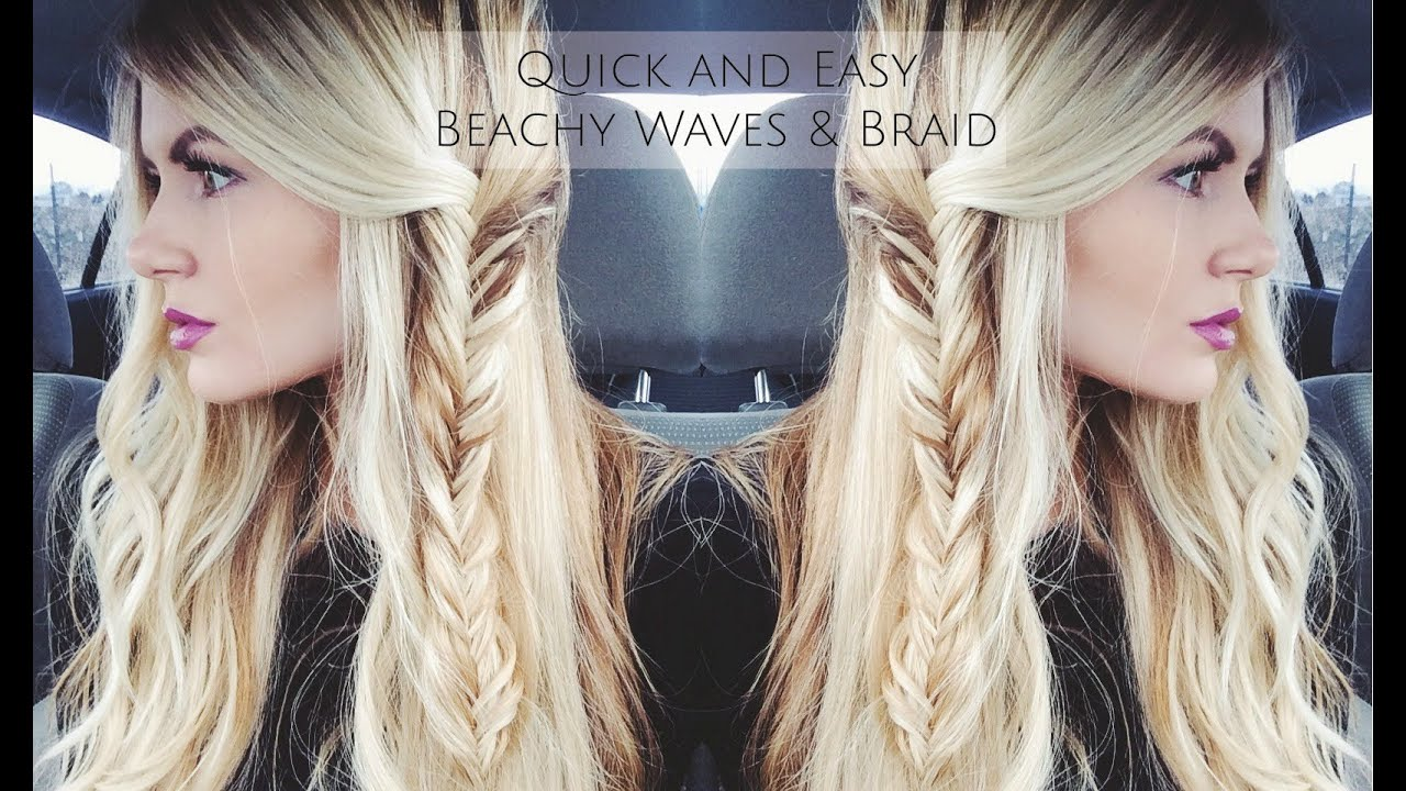 tutorial quick & easy beach waves