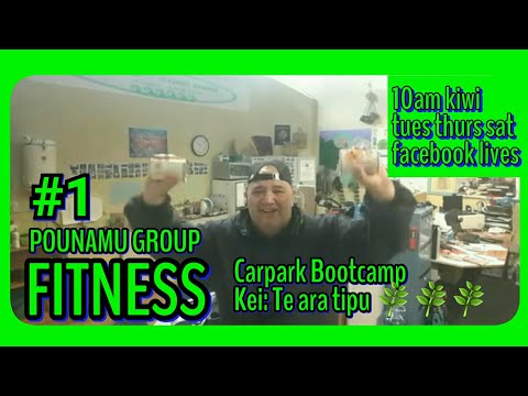 #1 ???? THE CARPARK BOOTCAMP - POUNAMU GROUP FITNESS - Precious steps toward better health & wellbeing