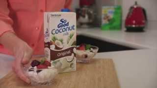 Yoghurt Berry Rice Pudding