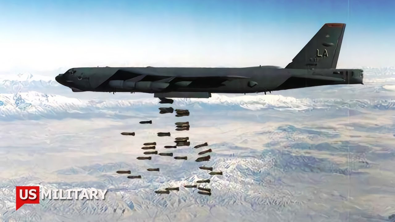 Here Comes The U.S. Air Force Is Arming It's B-52s With Hypersonic Missiles