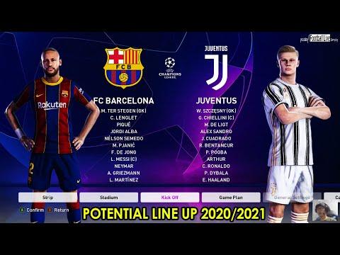 pes 2020 barcelona vs juventus potential transfers summer 2020 ft neymar haaland pogba lautaro youtube pes 2020 barcelona vs juventus