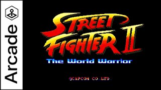 STREET FIGHTER 2 THE WORLD WARRIOR Gemeplay Arcade