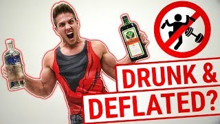 6 Reasons Why Alcohol Destroys Muscle Growth! | IS YOUR TIME BEING