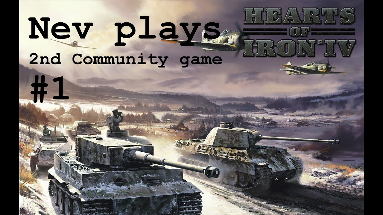 HOI4 Multiplayer 2nd community event - #1
