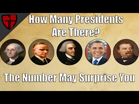 How Many Presidents Have There Been?