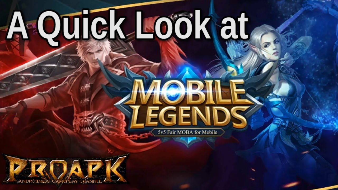 A Quick Look at Mobile Legends - YouTube