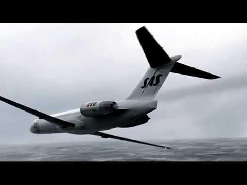 "Crash Animation: Scandinavian Airlines Flight 751 ""Miracle at Gottröra"""