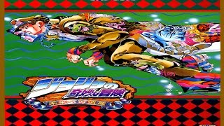 JoJo's Bizarre Adventure: Heritage for the Future (ARCADE CPS3) 1CC Jotaro Playthrough (LONGPLAY)