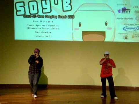 2nd karaoke costestant for soy'b'