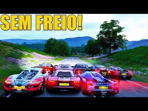 LADEIRA SEM FREIO - FORZA HORIZON 4 ONLINE - GAMEPLAY thumbnail