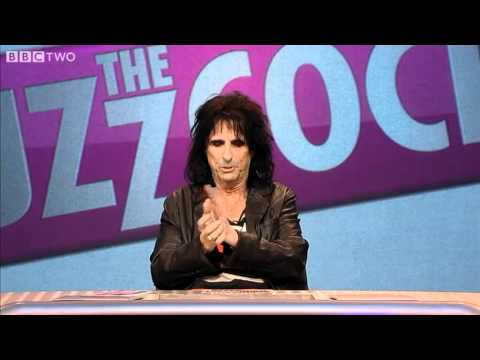 Alice Cooper talks about meeting The King, Elvis - Never Mind the Buzzcocks - S25 E7 - BBC Two