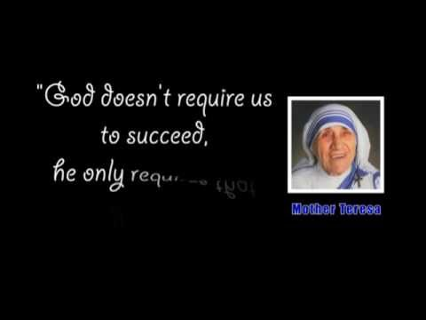 Famous Quotes Of Mother Teresa YouTube Cool Famous Mother Quotes