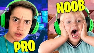 PRO vs NOOB - Hilarious Fortnite *TROLLING* in Creative