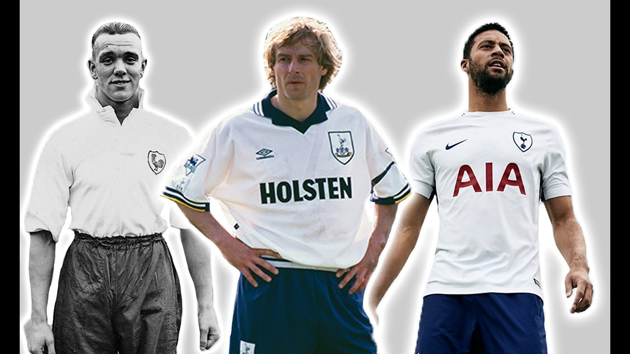 new product c11eb 6767e Tottenham's Football Kit History/Evolution | Then And Now