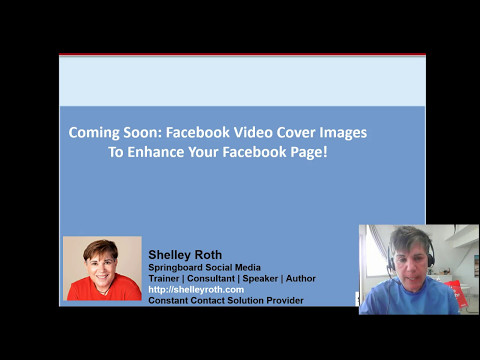 Coming to Facebook Business Pages-Video Cover Images