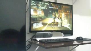 Crysis 3 1080p no máximo + FXAA gravado no XPeria P
