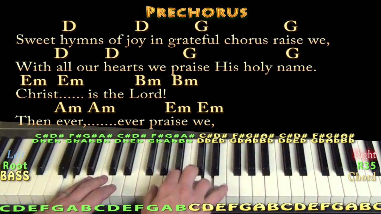O holy night christmas piano cover lesson in g with chords o holy night christmas piano cover lesson in g with chordslyrics hexwebz Gallery