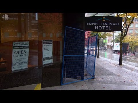 Everything on sale: Inside the Vancouver Empire Landmark liquidation