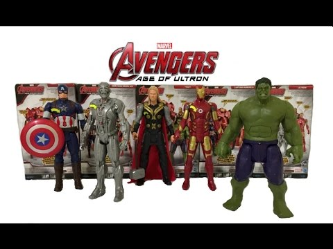 Avengers Age of Ultron Movie Toys Review & Unboxing | MARVEL AVENGERS SUPERHERO