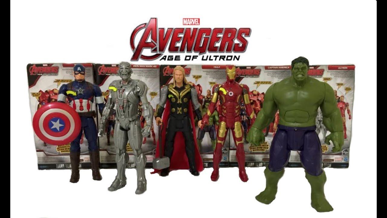 Marvel Avengers Ultron Iron Man Hulk Buster-Serie Modell Spielzeug Charaktere