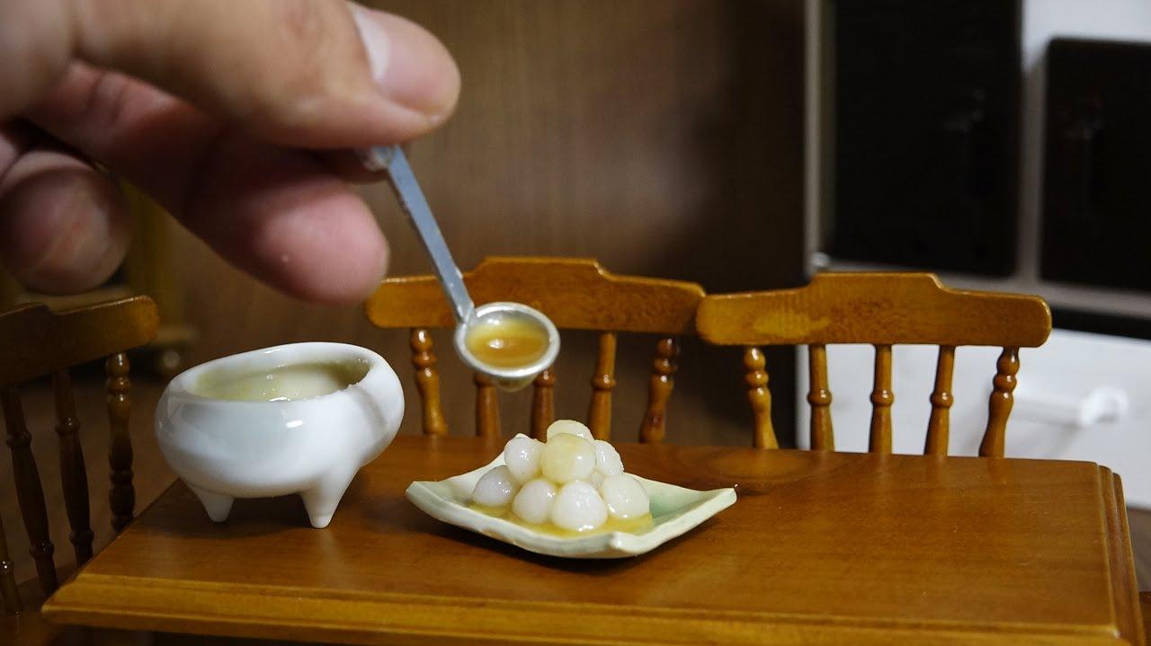 Quelle Couleurs Associer Avec Le Taupe : Mini Food ミニチュア みたらし団子 Mitarashi Dango  YouTube
