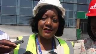 KKIA Construction Update 22.08.2018 - Live TV