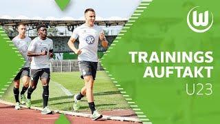 Laktattest und Trainingsauftakt der Nachwuchstalente   VfL Wolfsburg