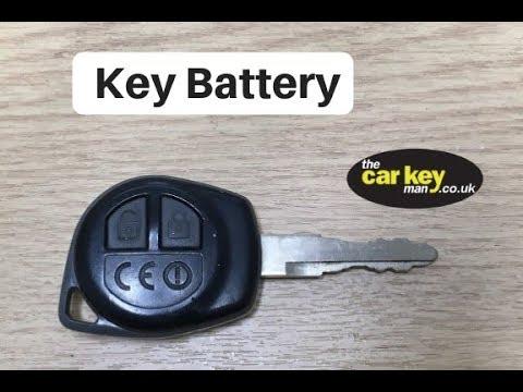 Key Battery Suzuki Ignis Vauxhall Agila Remote How To Youtube
