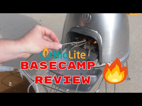Biolite Basecamp and Pizza Dome Review