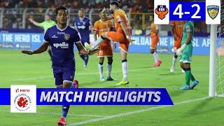 FC Goa 4-2 Chennaiyin FC (Agg: 5-6) - Hero ISL 2019-20 Semi-Final 1 (2nd Leg) Highlights