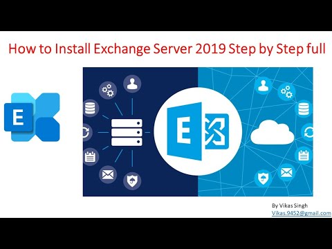 How to Install Exchange Server 2019 Step by Step full